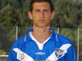 Roberto Cortellini con la maglia del Brescia