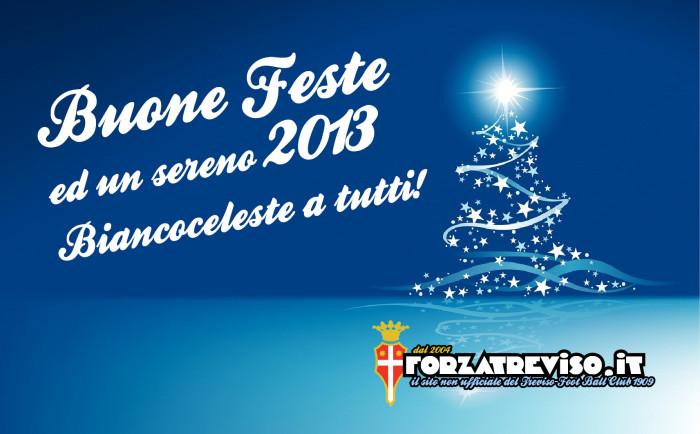 Buone feste ed un sereno 2013 Biancoceleste a tutti!