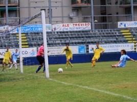 Treviso-Rossano 6-1 azione