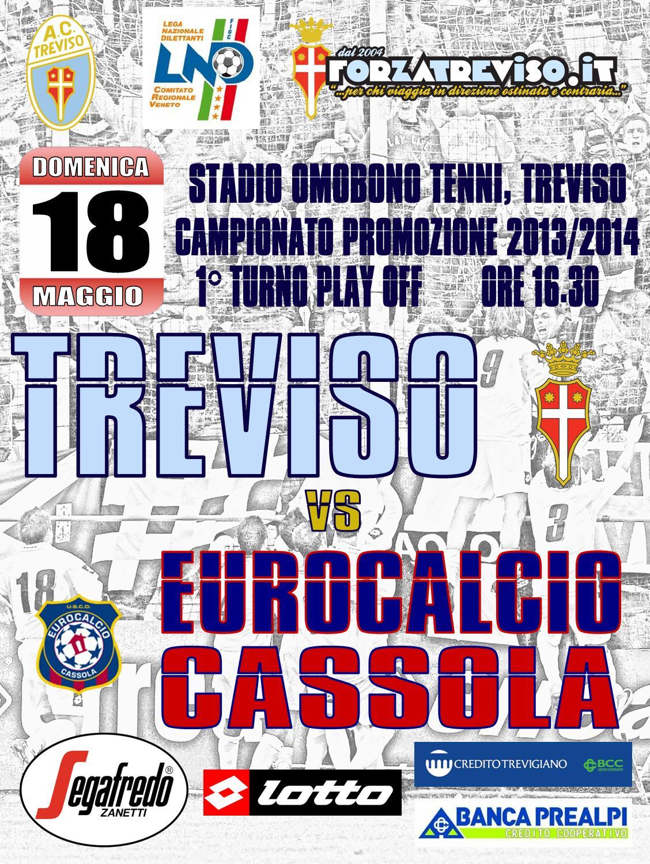 Locandina Treviso-Eurocalcio Cassola