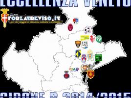 Eccellenza Veneto girone B 2014-2015 mappa mini