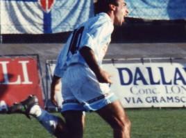Pasa esaulta dopo il gol di Fiorenza-Treviso Serie C1 1996/1997