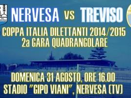 Locandina Nervesa-Treviso Coppa Italia