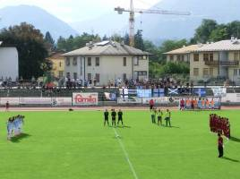 Feltrese-Treviso minuto di silenzio per Pinarello