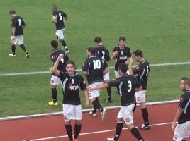 Laguna Venezia-Treviso 0-2 esultanza Mason