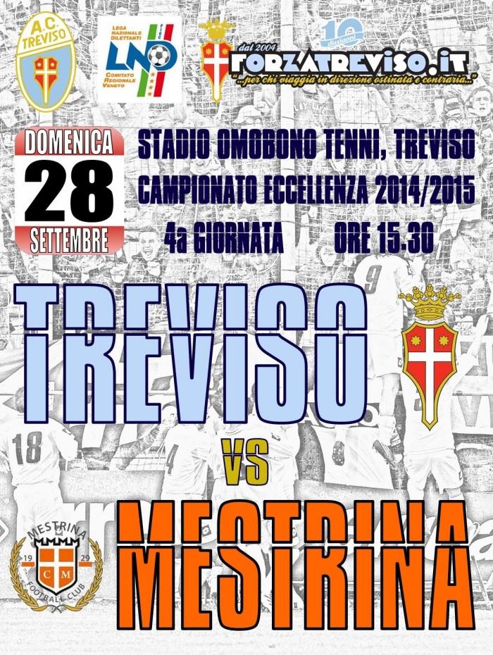 Locandina Treviso-Mestrina