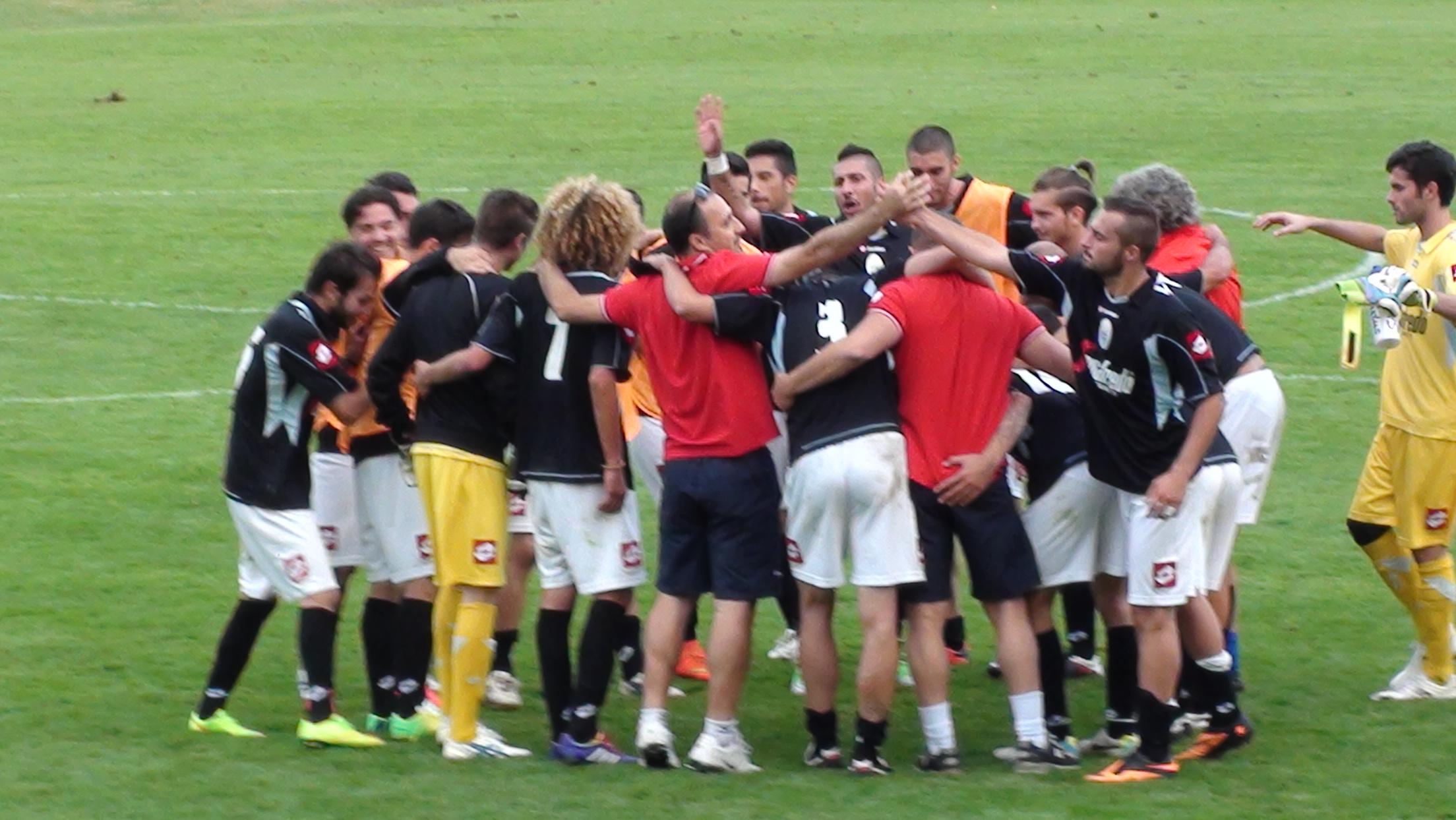 Festeggiamenti Treviso calcio