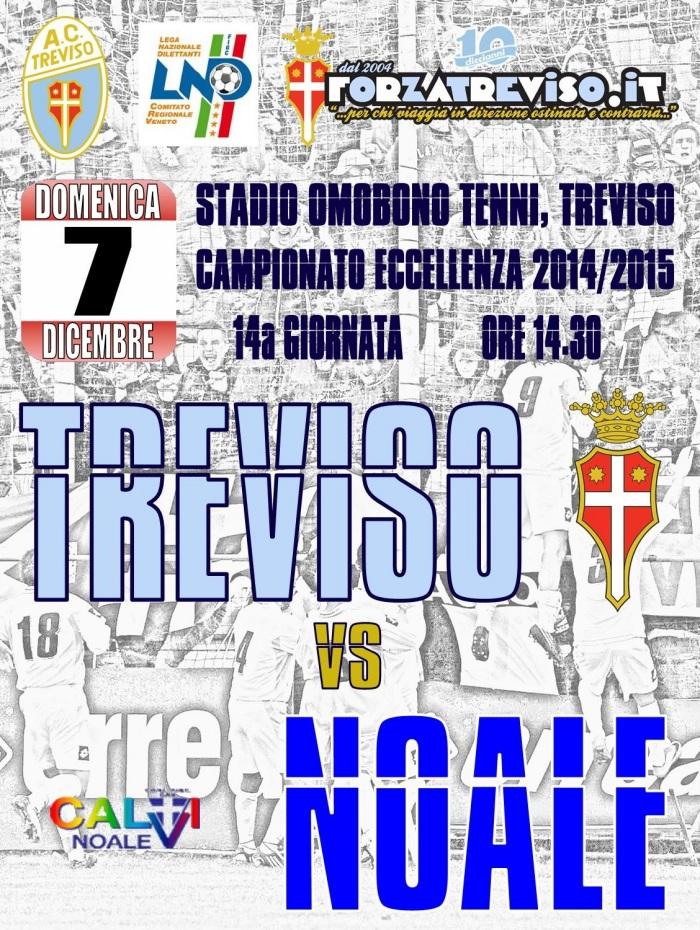 Locandina Treviso-Calvi Noale