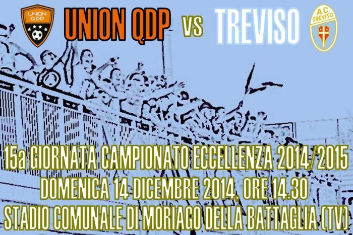 Locandina Union Qdp-Treviso