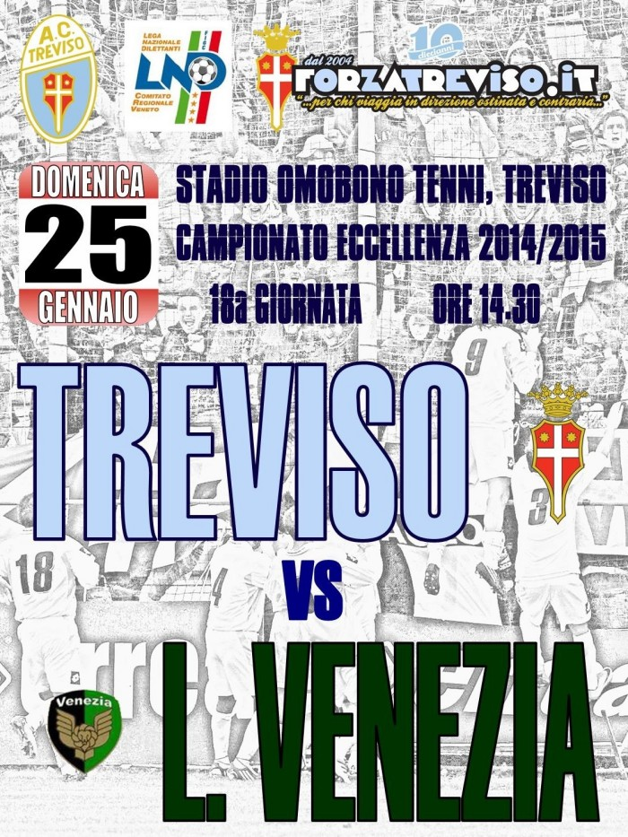Locandina Treviso- Laguna Venezia