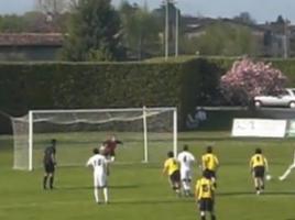 Il gol di Favaro contro il Liapiave nel 2010