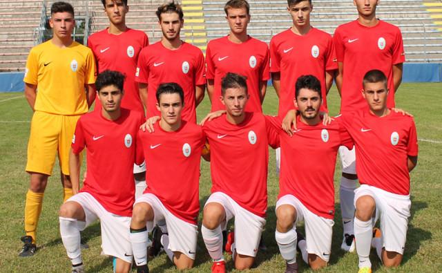 La formazione della Juniores contro il Comelico (foto Acd Treviso)