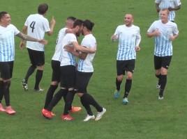 Vedelago-Treviso 0-2, festeggiamenti per Kastrati