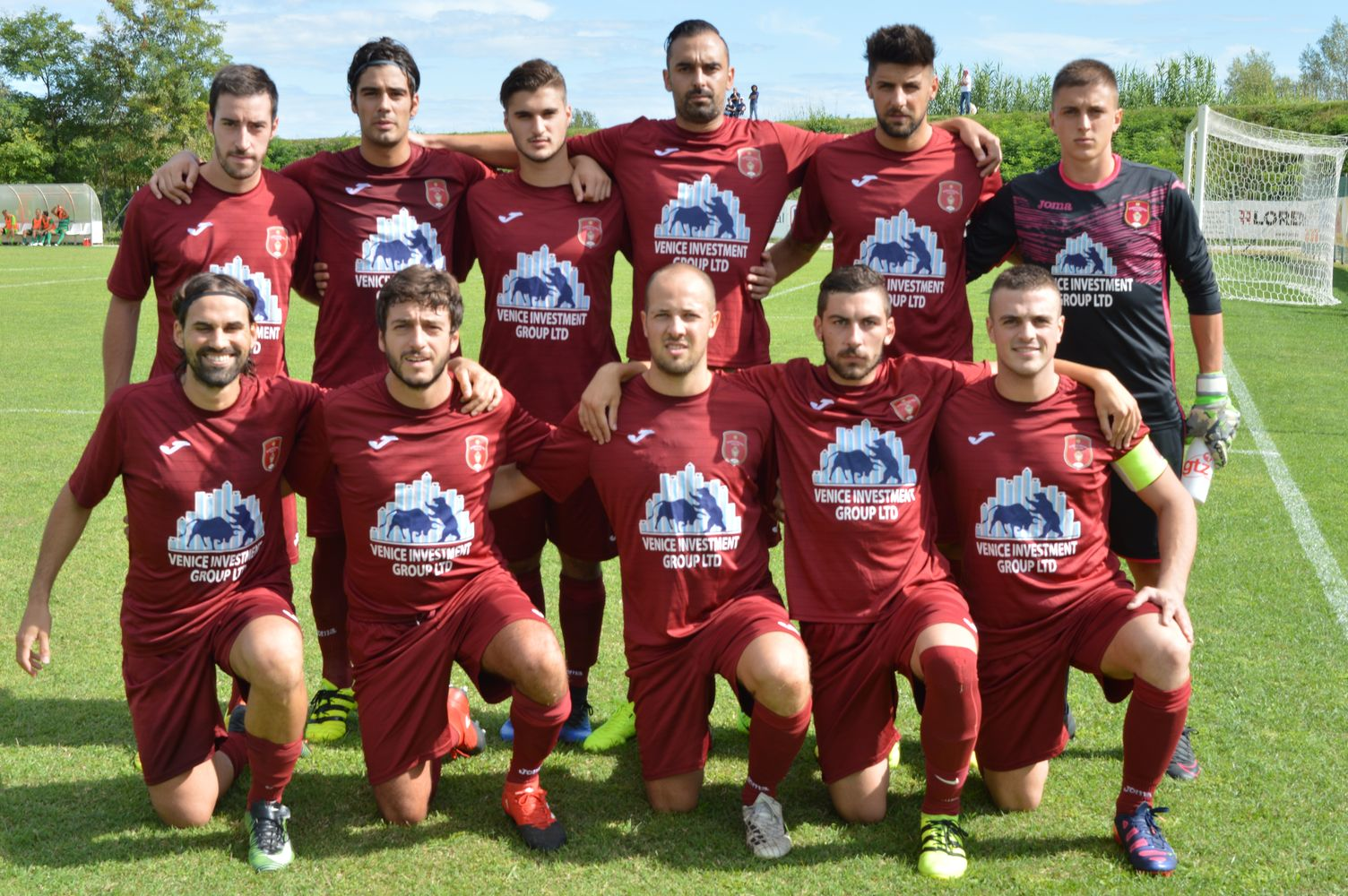 La rosa del Portogruaro, giunto al quinto anno consecutivo in Promozione