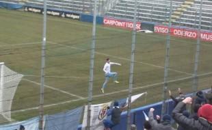 EL CID GOLEADOR Un solo gol ma pesantissimo per l'onnipresente Banzato, in gol nel momento peggiore
