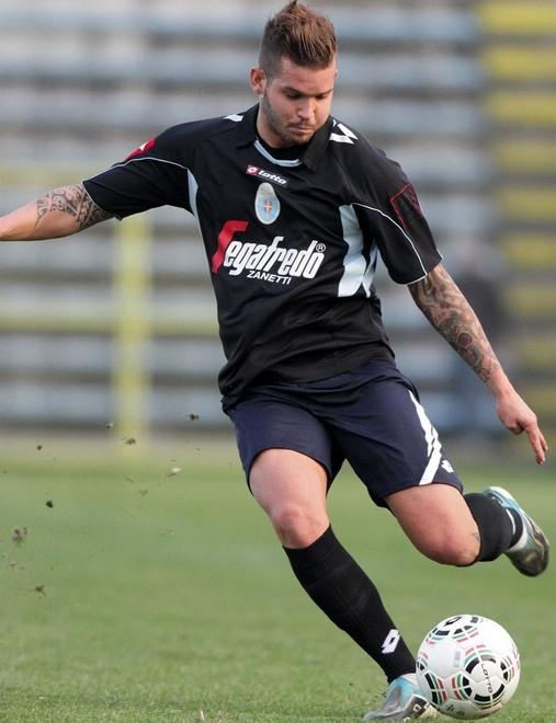Cattelan con la maglia del Treviso nella stagione 2015/2016