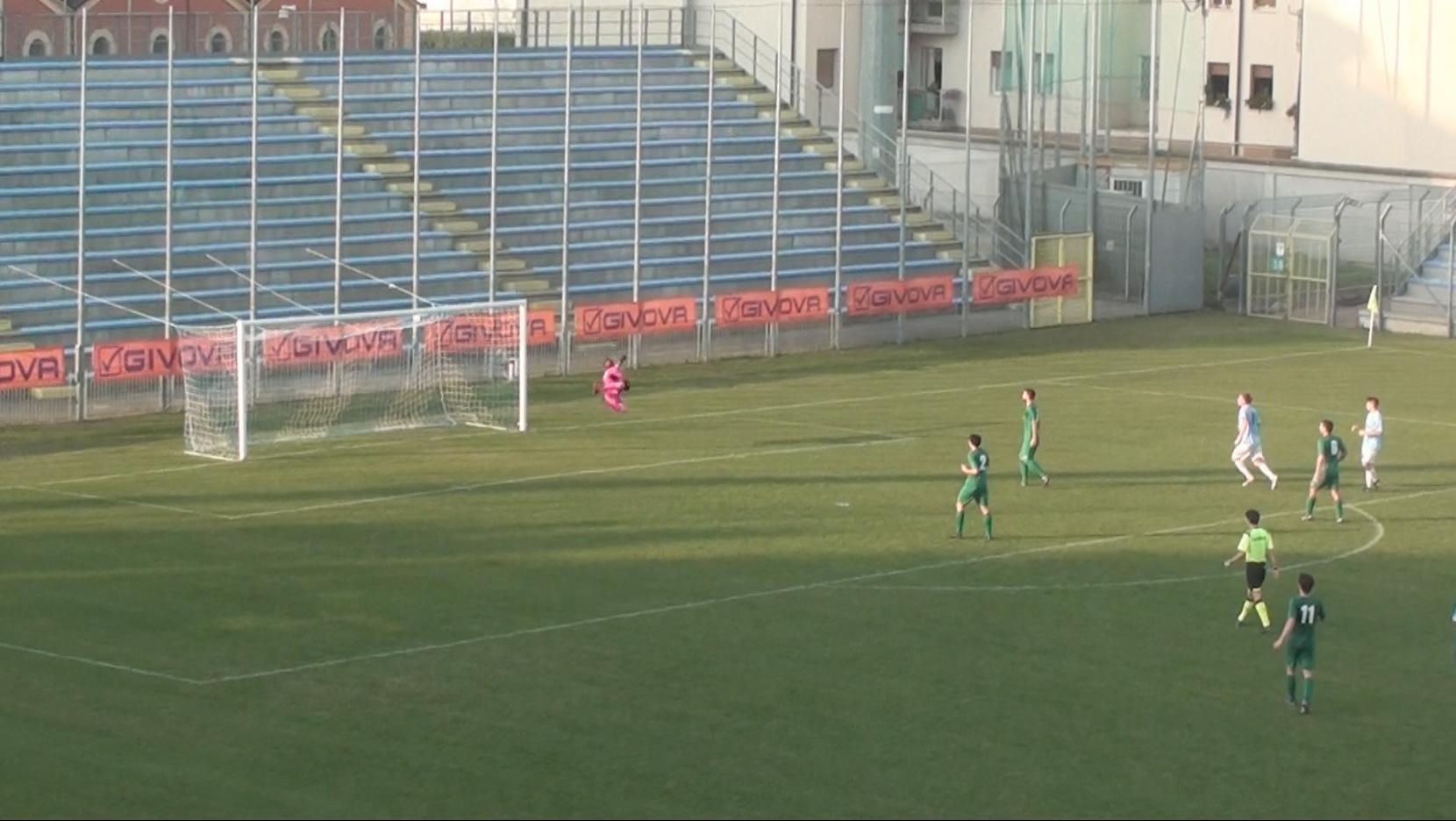 Zambon colpisce ancora nei primi minuti e con un eurogol abbatte il muro difensivo del Ponzano