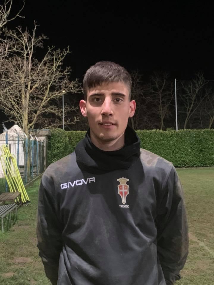 Alberto Scocco, nuovo portiere classe 2000 del Treviso