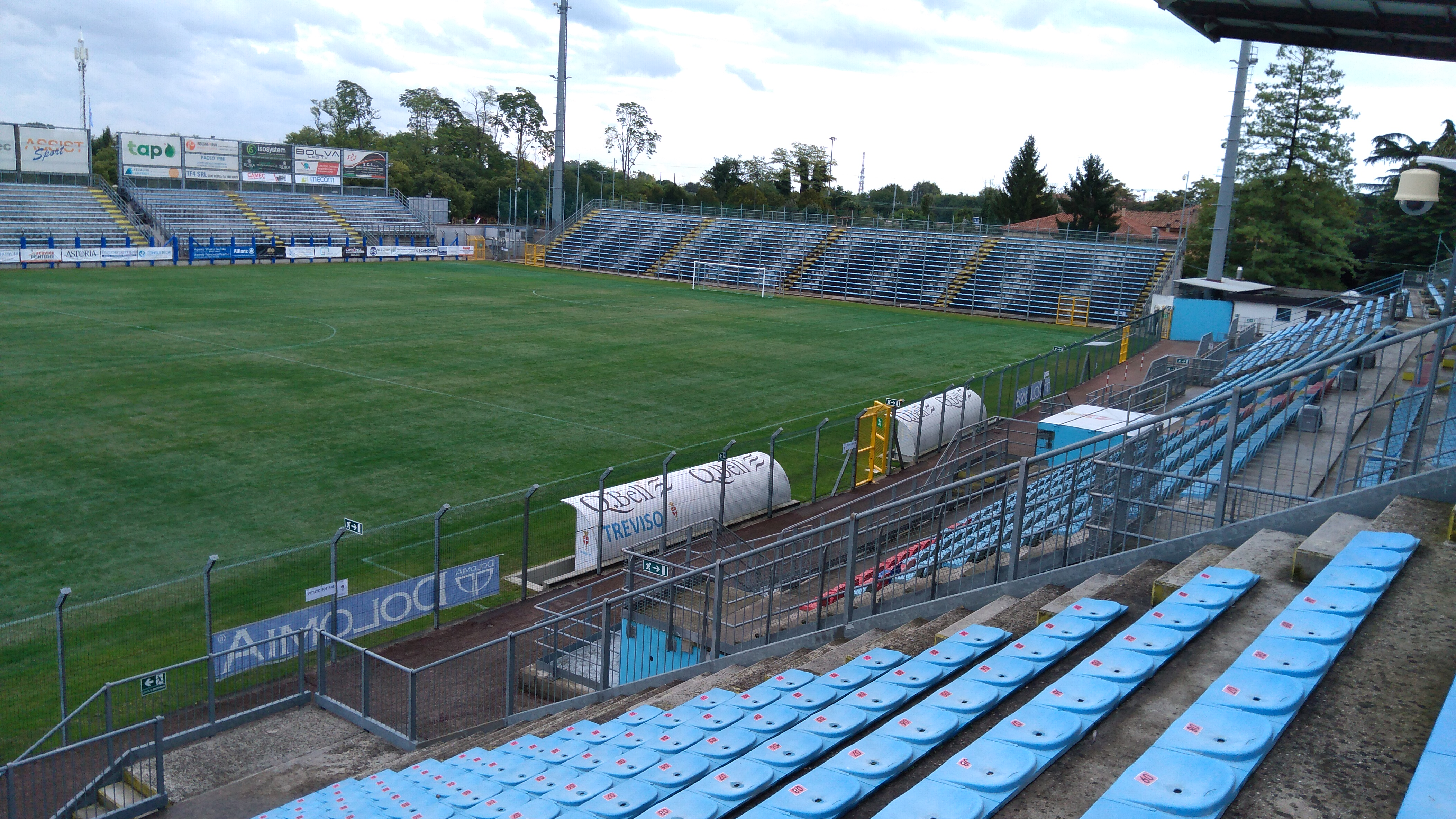 Tribuna laterale nord